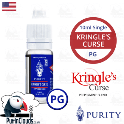 Purity Kringles Curse E-Liquid PG 10ml | Puffin Clouds UK