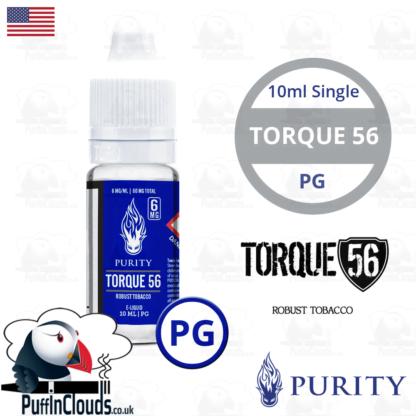 Purity Torque 56 E-Liquid PG 10ml | Puffin Clouds UK