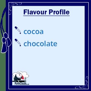 Purity Belgian Cocoa Vape Juice Flavour Profile