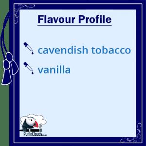 Purity Black Calico High VG E-Liquid Flavour Profile