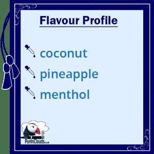 Purity Malibu High VG E-Liquid Flavour Profile