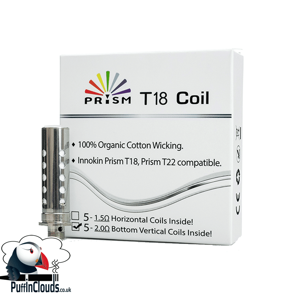 Innokin Endura T18 Coils 2 ohm (5 Pack)