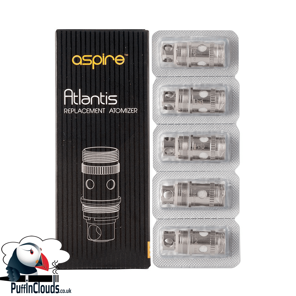 Aspire Atlantis 2 Coils (5 pack)