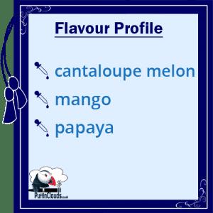 Cuttwood Mega Melons E-Liquid - Flavour Profile