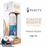 Purity Toasted Reserve High VG E-Liquid - Peanut Butter E-Liquid