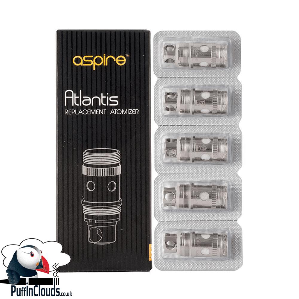 Aspire Atlantis Coils (5 pack)