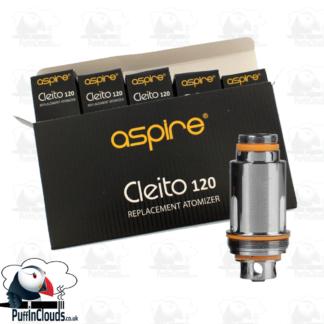 Aspire Cleito 120 Coils (5 Pack)