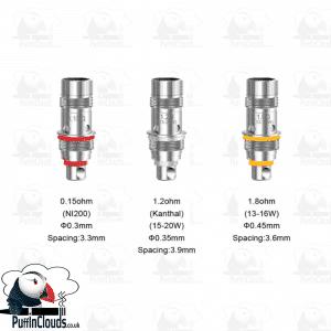 Aspire Triton Mini Coils (5 Pack)
