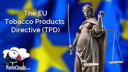 UK Vaping Laws 2017 (TPD) - What does it mean for our customers?