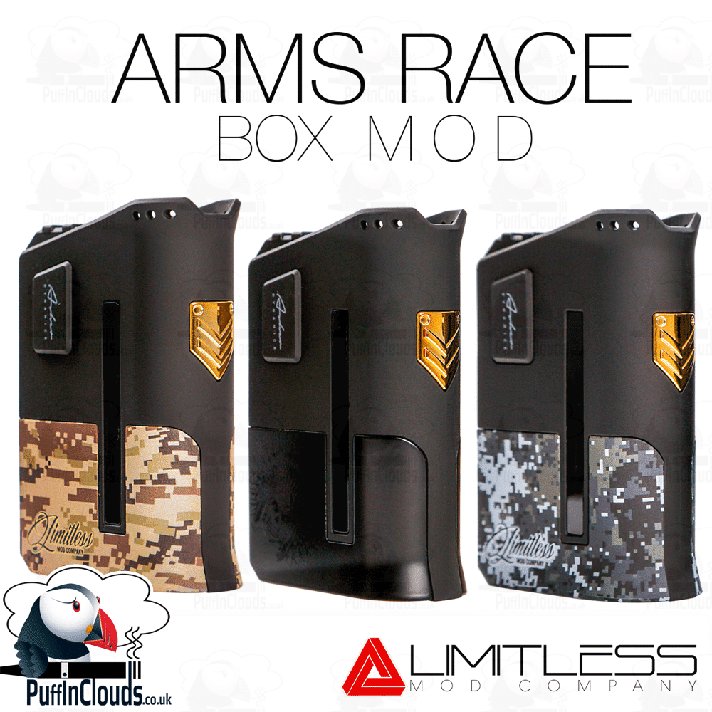 iJoy Limitless Arms Race Box Mod (200 Watts)