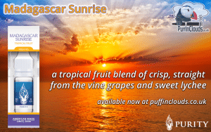 Madagascar Sunrise Purity E-Liquids