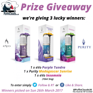 Purity & eVo Prize Competition