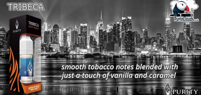 Purity Tribeca E-Liquid - Smooth Tobacco E-Liquid