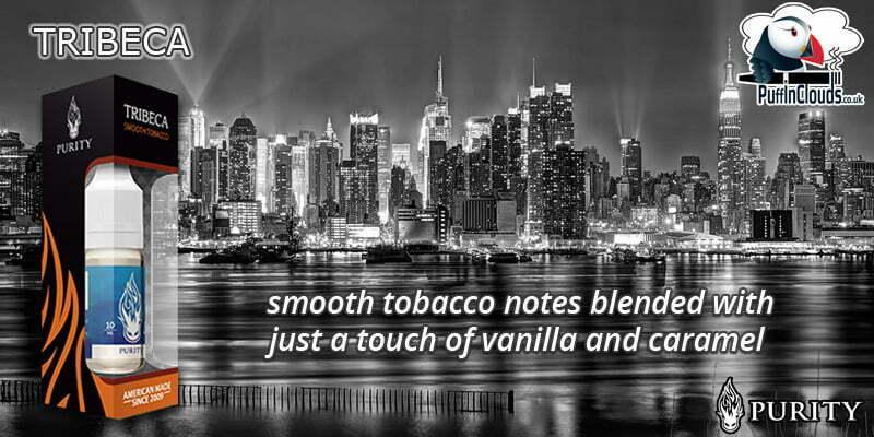 Purity Tribeca E-Liquid - Smooth Tobacco E-Liquid