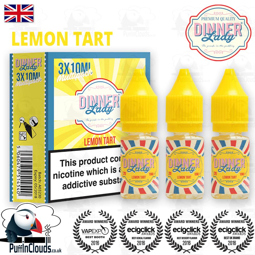 Dinner Lady Lemon Tart eLiquid