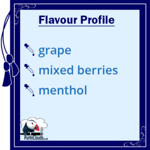 Nasty Juice ASAP Grape E-Liquid (Low Mint) Flavour Profile