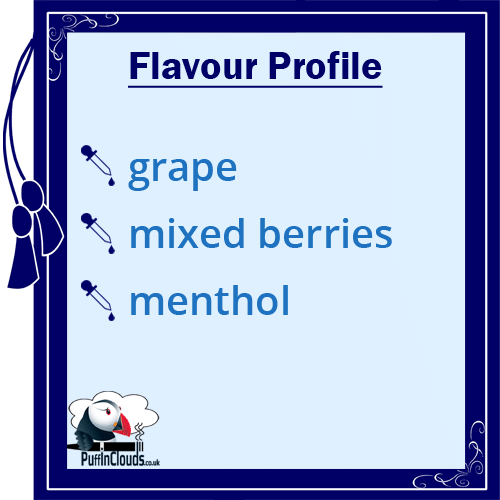 Nasty Juice ASAP Grape E-Liquid (Low Mint) Flavour Profile