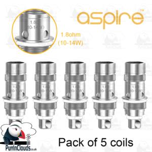 Aspire Nautilus 2 BVC Coils (5 Pack)