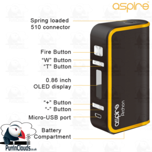 Aspire Archon Mod - 150 Watts | Puffin Clouds UK