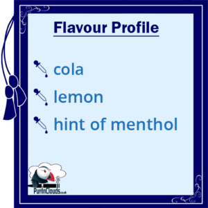 Dinner Lady Cola Shades E-Liquid - Summer Holidays Range | Puffin Clouds UK