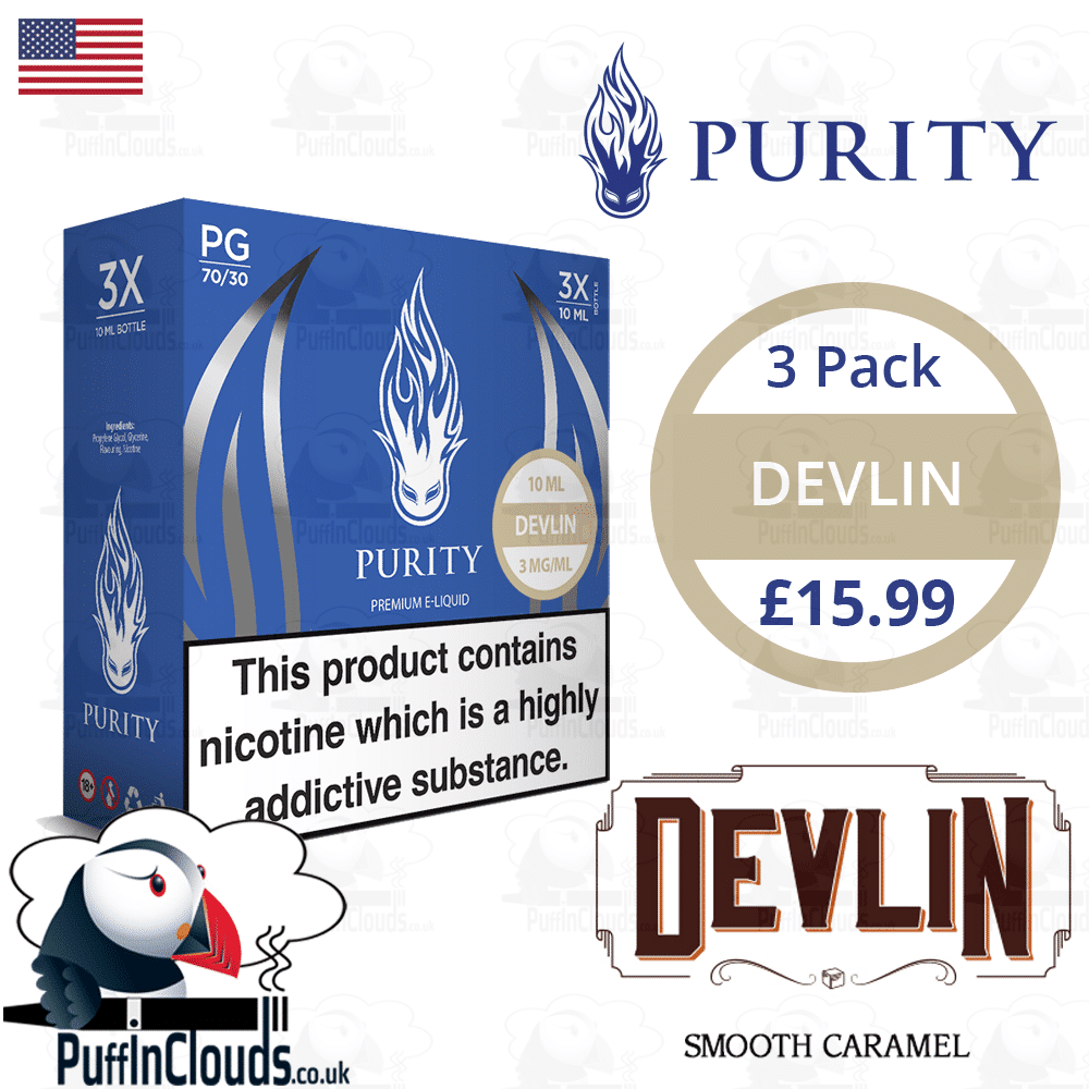 Purity Devlin E-Liquid | Puffin Clouds UK