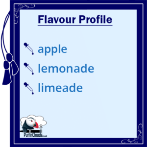 I Love VG Apple Dazzle E-Liquid - Flavour Profile | Puffin Clouds UK