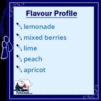 IVG Summer Blaze E-Liquid - Flavour Profile | Puffin Clouds UK