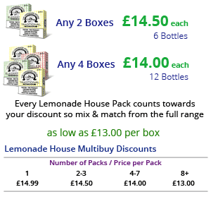 Lemonade House Multibuy Pricing | Puffin Clouds UK