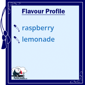 Lemonade House Sparkles - Raspberry Lemonade E-Liquid - Flavour Profile | Puffin Clouds UK