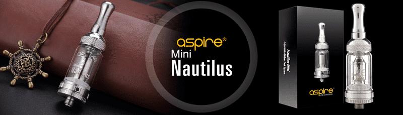 Aspire Nautilus Mini Tank (UK Edition) | Puffin Clouds UK