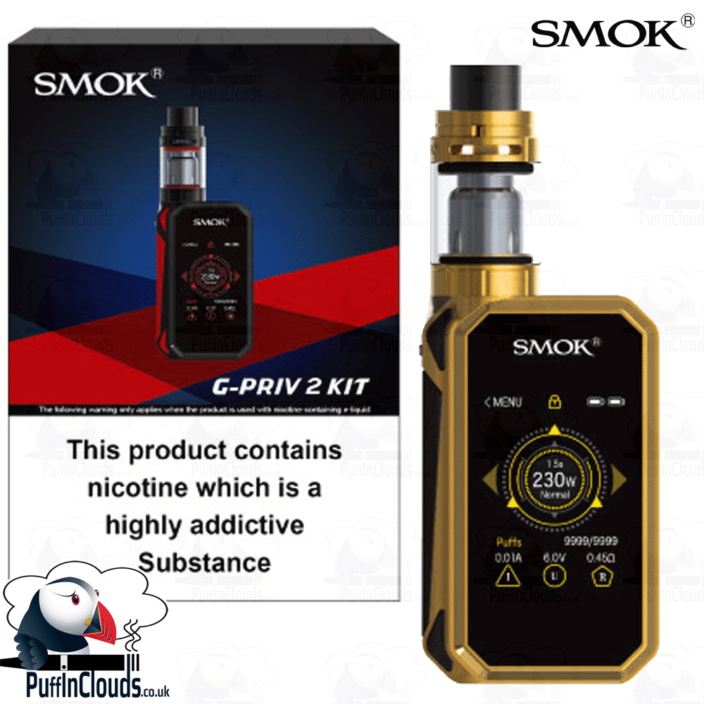 SMOK G-Priv 2 Kit 230 Watts (UK Edition) | Puffin Clouds UK