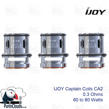 IJOY Captain CA2 0.3 Ohm Coils (3 Pack) | Puffin Clouds UK