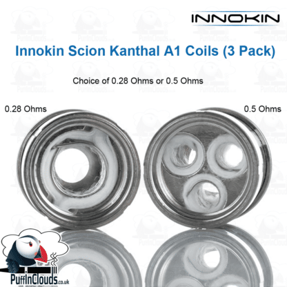 Innokin Scion Coils (3 Pack) | Puffin Clouds UK