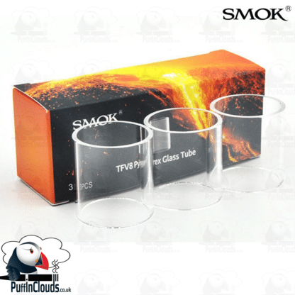 SMOK TFV8 Big Baby Replacement Glass (3 Pack)   Puffin Clouds UK