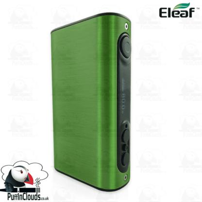Eleaf iStick Power 80W Mod - Brushed Green | Puffin Clouds UK