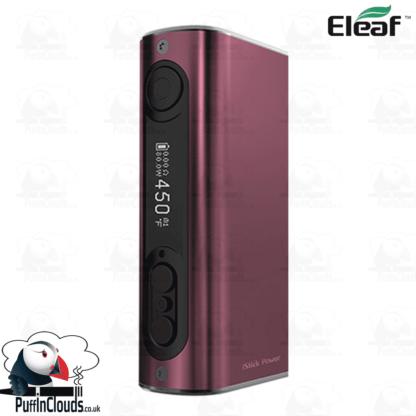 Eleaf iStick Power 80W Mod - Brushed Wine | Puffin Clouds UK