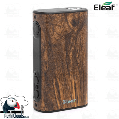 Eleaf iStick Power 80W Mod - Wood Grain | Puffin Clouds UK