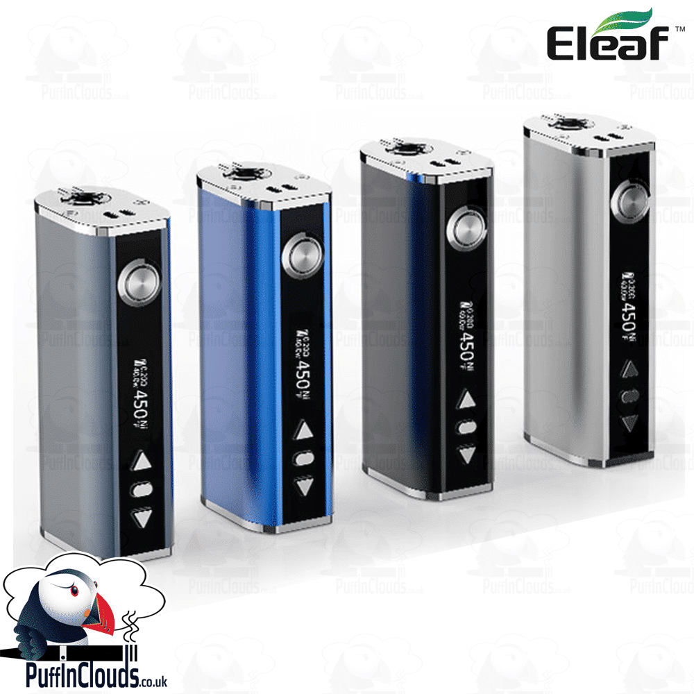 Eleaf iStick TC40W Mod | Puffin Clouds UK