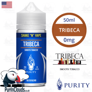 Purity Tribeca Shake n Vape E-Liquid (50ml 0mg) | Puffin Clouds UK