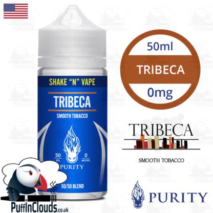 Purity Tribeca Shake n Vape E-Liquid (50ml 0mg) | Puffin Clouds UK