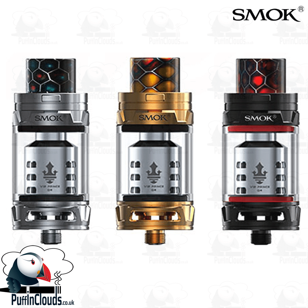 SMOK TFV12 Prince Tank – UK Edition | Puffin Clouds UK