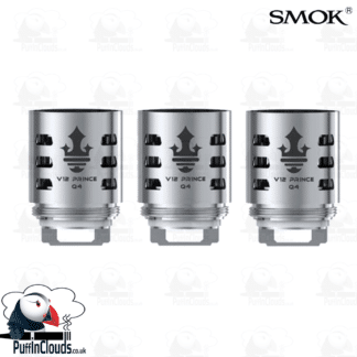 SMOK V12 Prince Q4 Coils (3 Pack) | Puffin Clouds UK