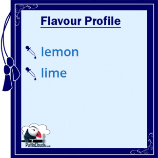 Ohm Brew Lemon & Lime Lolly Nic Salt E-Liquid Flavour Profile | Puffin Clouds UK