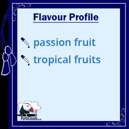 Nasty Ballin Passion Killa Flavour Profile | Puffin Clouds UK