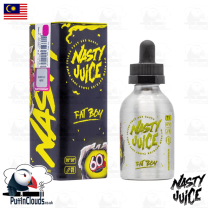 Nasty Juice Fat Boy Short Fill E-Liquid 50ml | Puffin Clouds UK