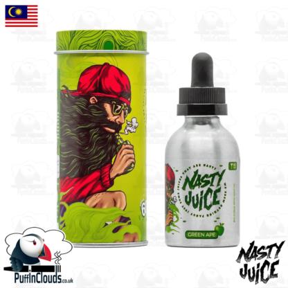 Nasty Juice Green Ape Short Fill E-Liquid 50ml   Puffin Clouds UK