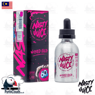 Nasty Juice Wicked Haze Short Fill E-Liquid 50ml | Puffin Clouds UK