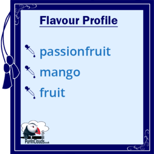 Ohm Brew Passionfruit and Mango Nic Salt E-Liquid Flavour Profile | Puffin Clouds UK