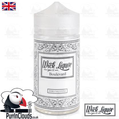 Wick Liquor Boulevard Short Fill (150ml)   Puffin Clouds UK