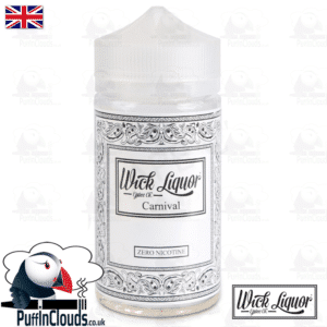 Wick Liquor Carnival Short Fill (150ml) | Puffin Clouds UK
